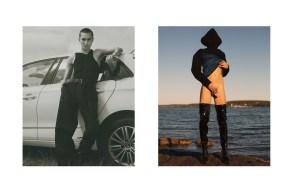 Full look - YOHJI YAMAMOTO | belt - ACNE STUDIOS | Hoodie - ACNE STUDIOS | dress - Beyond Retro and shoes - stylist's own