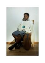 "Art works: ""BAGNANTE"", 2010 | Sweater - Marios | Shirt - Mitchumm Industries | Shorts - Armani Junior | Scarf - Pence"
