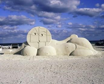 Sand Sculpture, 2008