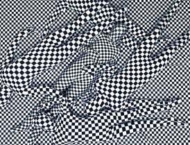 Black and White Pattern People, 2013