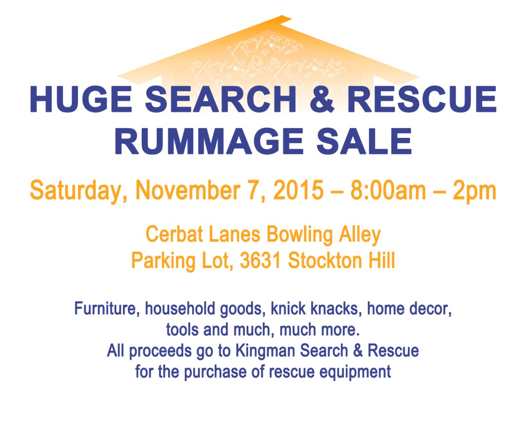 Kingman-Merchants-Mall-Kingman-Search-Rescue-Rummage-Sale