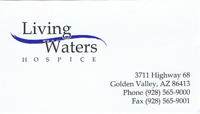 Kingman-Merchants-Mall-Business-Directory-In-Home-Care-Living-Waters-Card