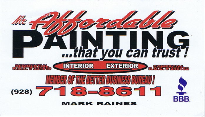 Mr. Affordable Painting