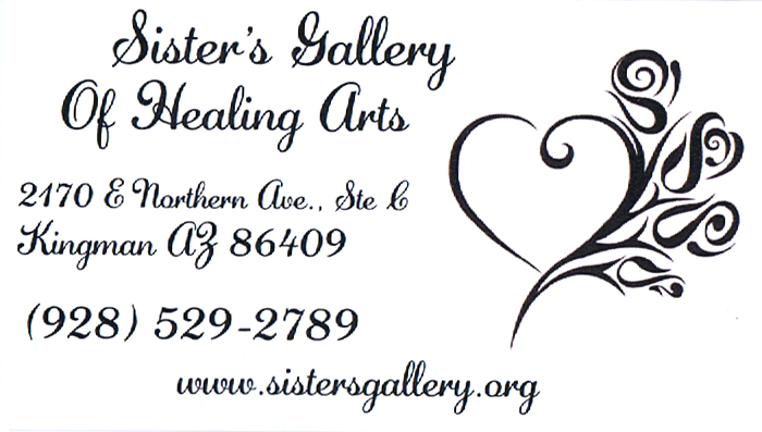 Sisters Gallery of Healing Arts, Art Gallery, Hair Salon & Day Spa