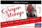 Stetson Winery's Grape Stomp