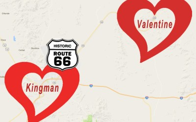 Historical Route 66 Has Two Great Places for Romance