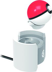 06:將精靈球 Plus 直接放在充電座上就可以進行充電