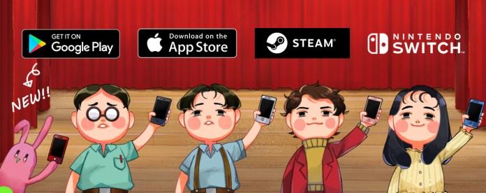 Google Play、App Store、Steam、Nintendo Switch eShop
