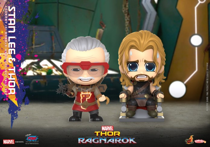 Hot Toys - Thor 3 - Stan Lee and Thor Cosbaby_PR1
