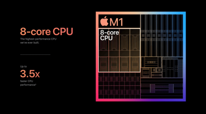 Intel晶片 vs Apple自家製M1晶片