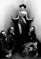 Ballet Society, by Irving Penn