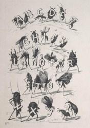 Alphabet des Insectes