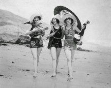 Bathing Beauties and Seaside Cuties from between 1920s and 1940s