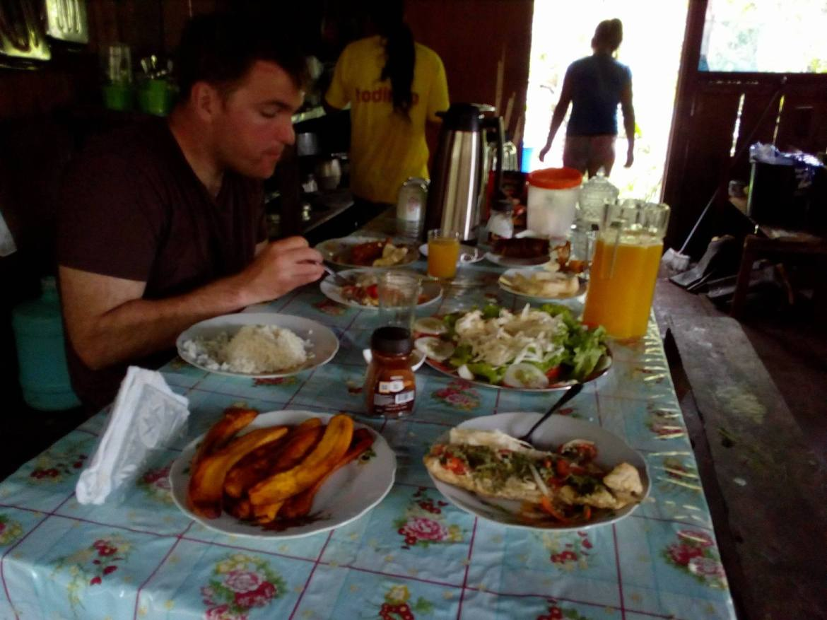 King of Compassion Resorts Ayahuasca Dining Room