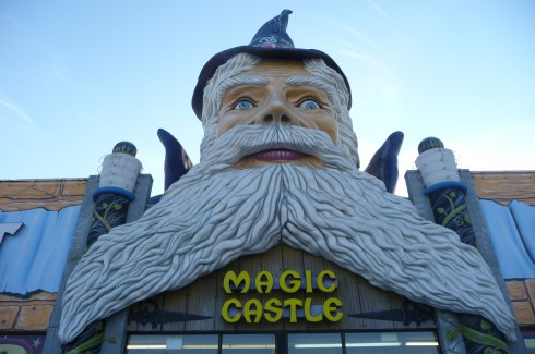 What is more welcoming than a giant wizard with a lazy eye? - That is correct, nothing.