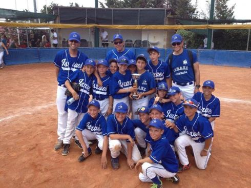 the Juvenile Israel National Team in Italy (photo by Yitzy Roseman)