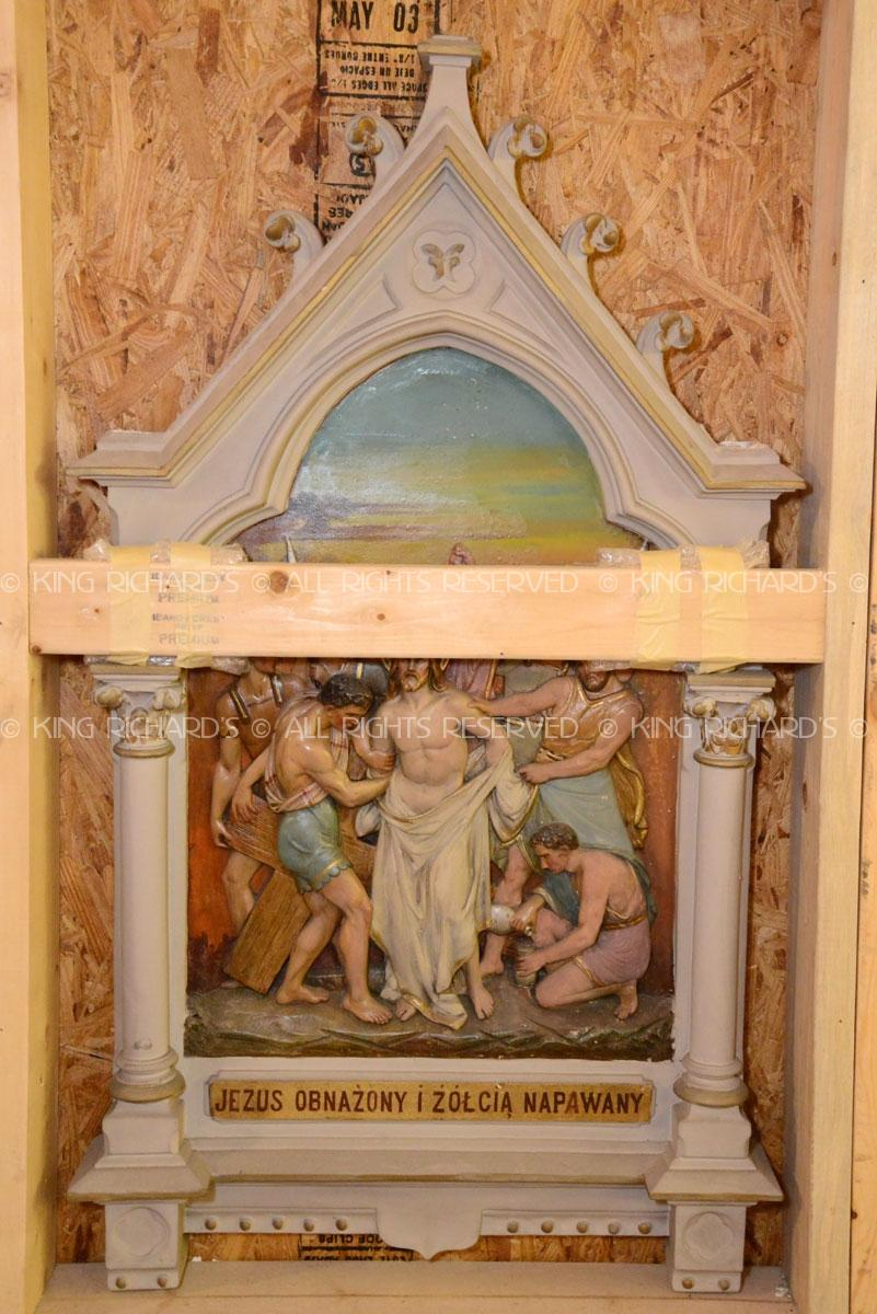 Antique Stations Of The Cross Vintage Gothic Daprato
