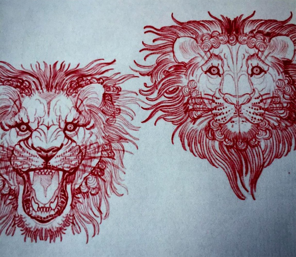 Lion Tattoos