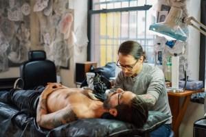 Zac Scheinbaum Kings Avenue Tattoo