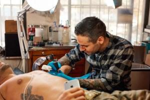 Phil Szlosek Kings Avenue Tattoo