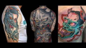 Hannya Tattoo Kings Avenue Tattoo