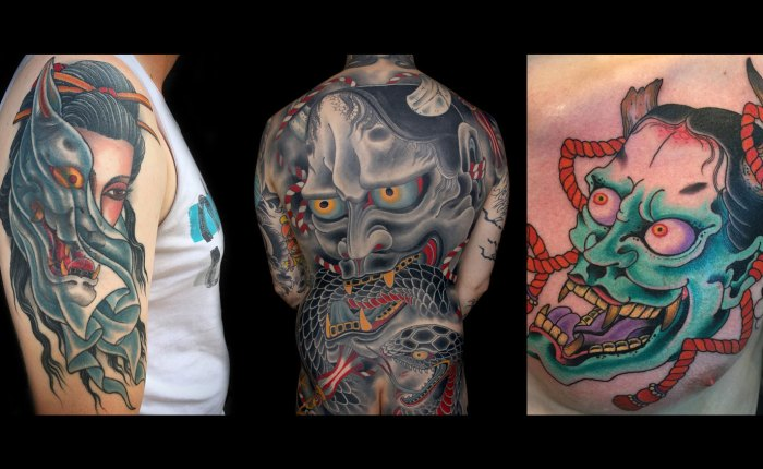 Hannya Tattoo Kings Avenue Tattoo