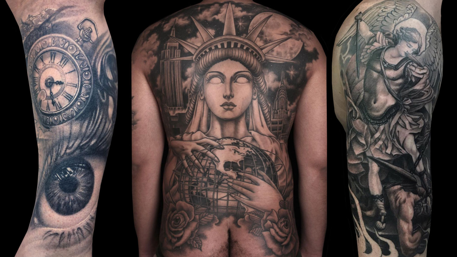 9 Tattoo Artists that Specialize in Black and Grey Tattoos