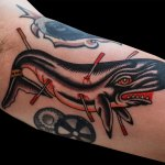 Whale Tattoo by Chris Fernandez