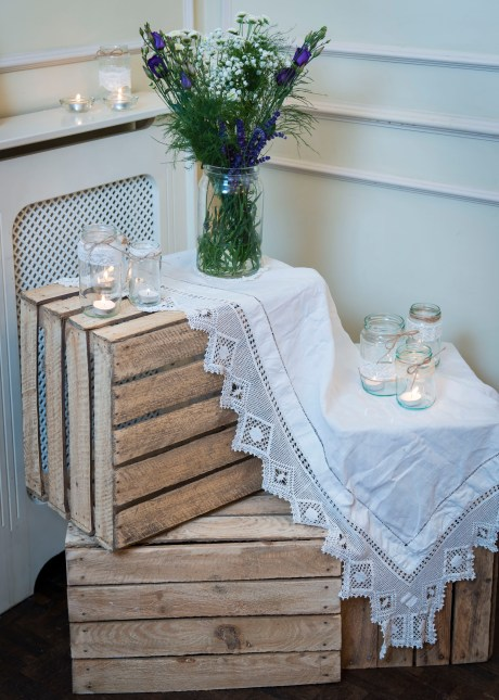 Wedding Decoration Crates