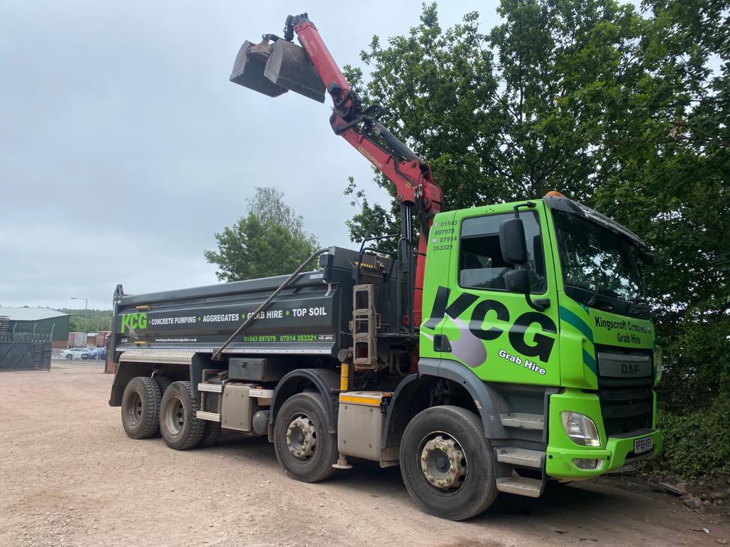 Kingscroft concrete and grab hire