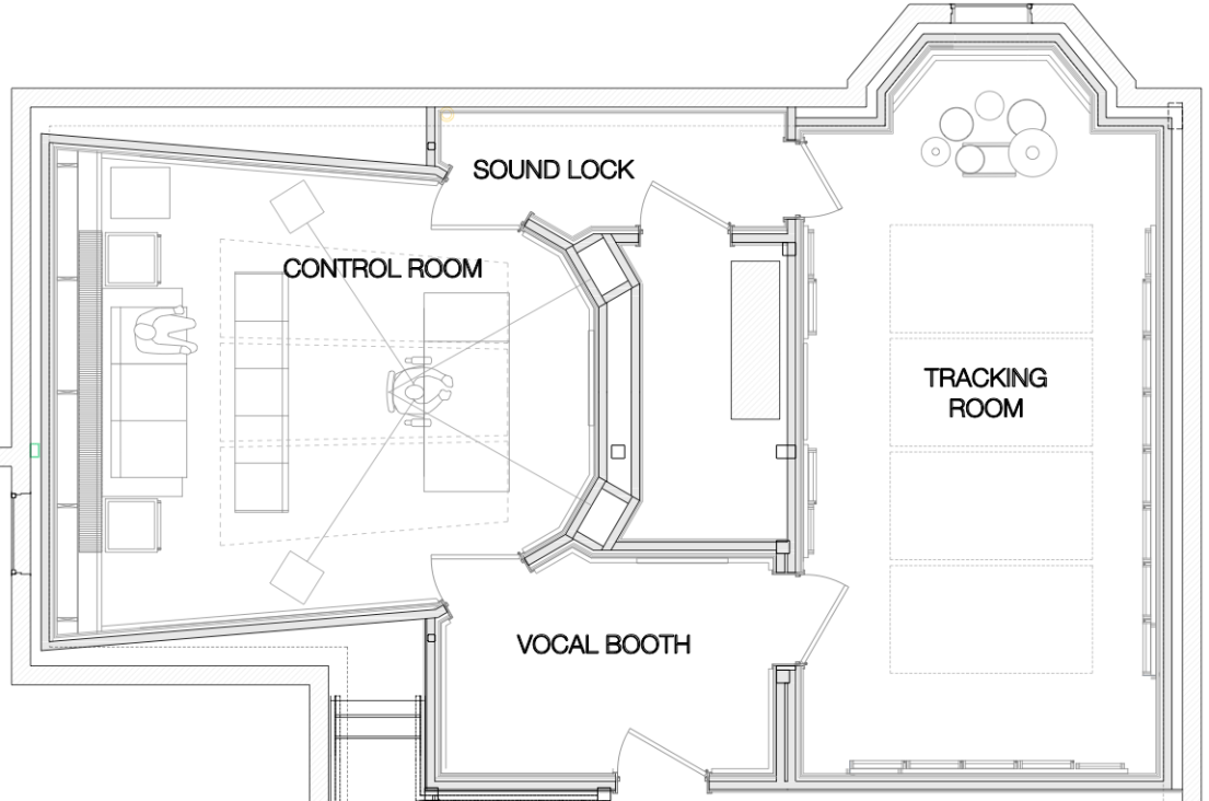 Kings Hill Sound Coming To Pdx In 2019 Records Recording Studio Wiring Diagram Floor Plan