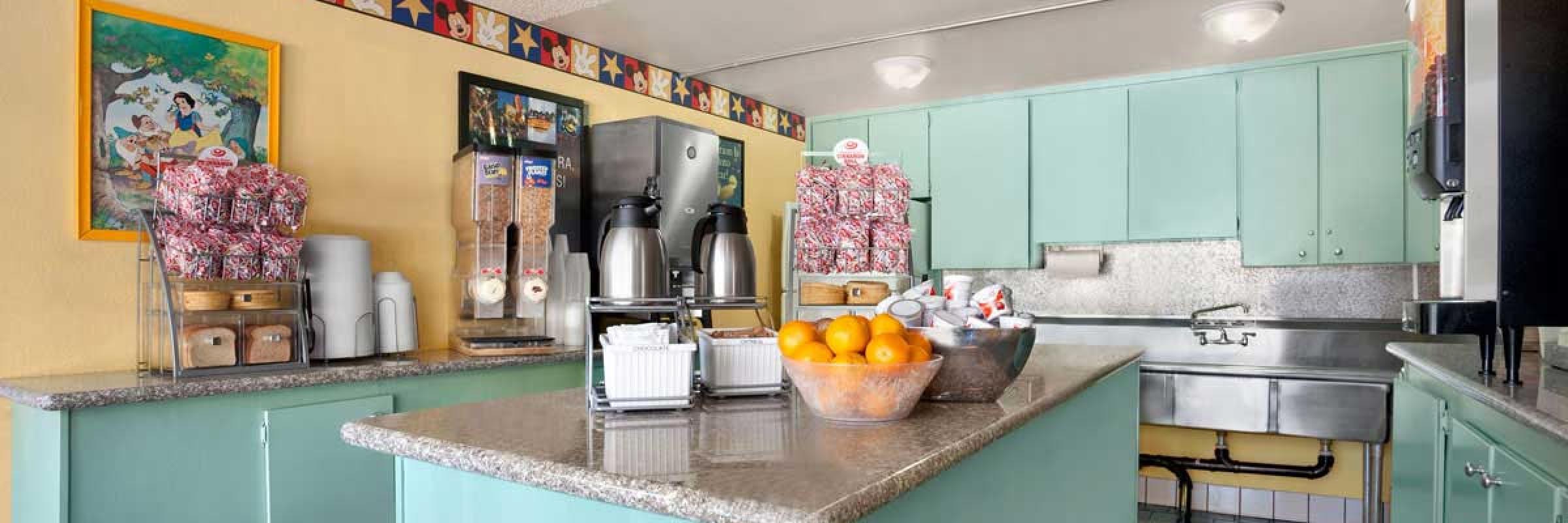 2 Bedroom Suites Near Disneyland Part - 48: ... Op-Breakfast-Room ...