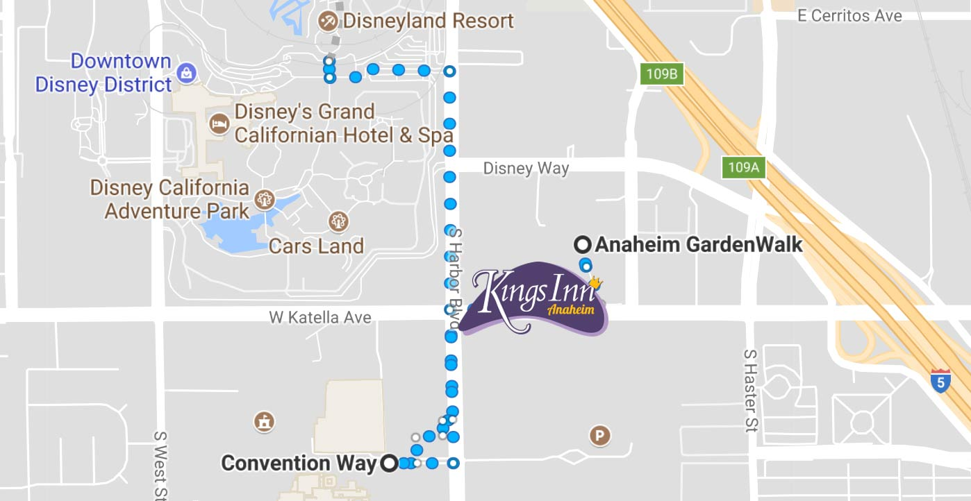 Kings-Inn-Anaheim-Hotel-Near-Disneyland-Map