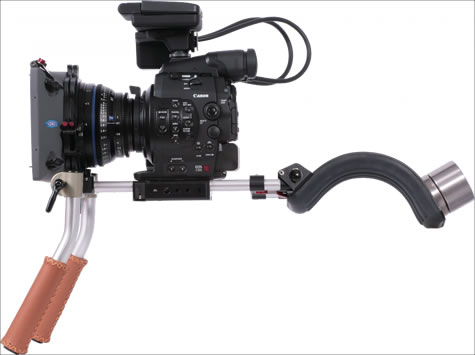 Canon C300 with Vocas Rig