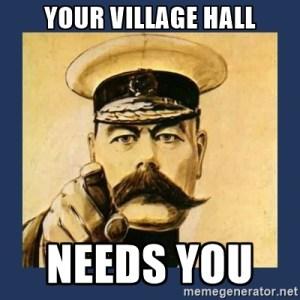 YOUR HALL NEEDS YOU