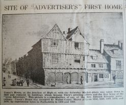 1940 Feb 28th Lynn Advertiser Centenary Coneys House
