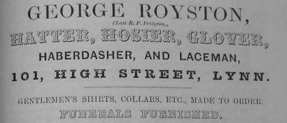 1856 Directory George Royston Lynn Forums cut gscale