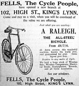 1927 Feb 25th Fells opens new branch