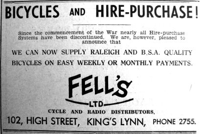 1940 Mar 29th Fells no HP