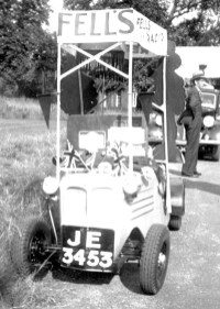 Fells advertising car 2 (John Fell)
