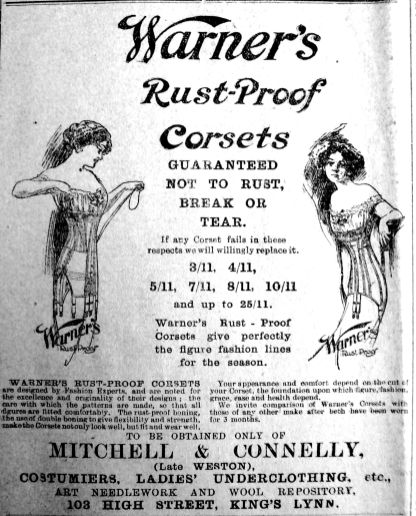 1913 Jan 31st Mitchell & Connelly