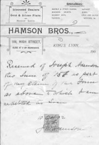 Hamson Letterhead (Nick Hamson)