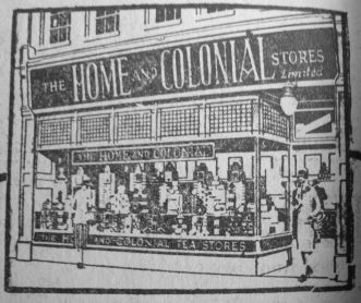 1927 Oct 7th Home & Colonial Stores