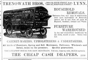 1887 July 30th Trenowath Bros @ Nos 109 & 110
