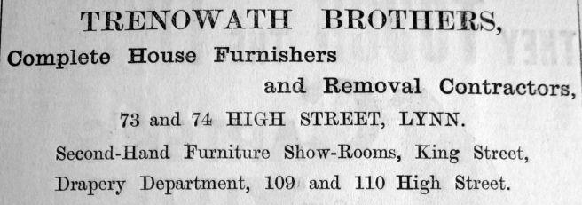 1904 Mar 11th Trenowath Bros heading