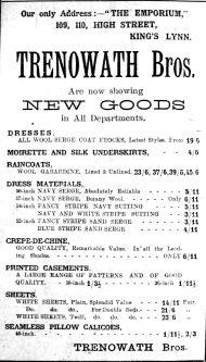 1922 Mar 3rd Trenowath Bros