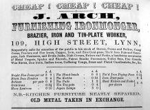 1856 Directory John Arch grayscale