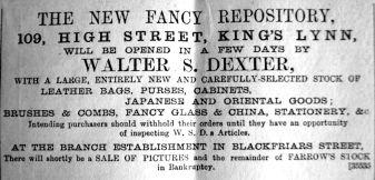 1889 July 20th Dexter