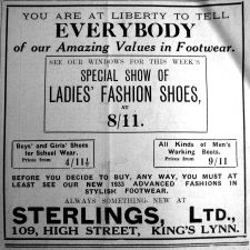 1933 Jan 20th Sterlings Ltd