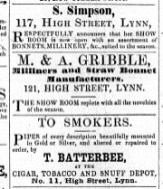1859 May 14th T Batterbee @ No 11